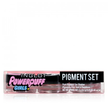 POWERPUFF GIRLS PIGMENT SET