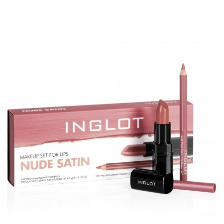 Makeup Set for lips NUDE SATIN